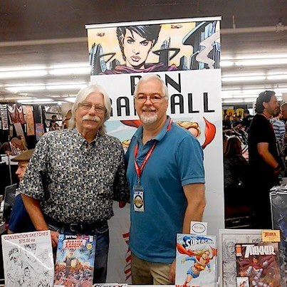 With wonderful Dave Scroggy at the 1st Rose City Comic-Con
